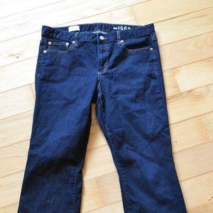 Gap jeans 32S slim perfect boot 32 rinse short